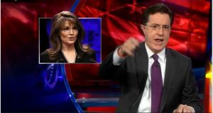 Stephen Colbert on Sarah Palin