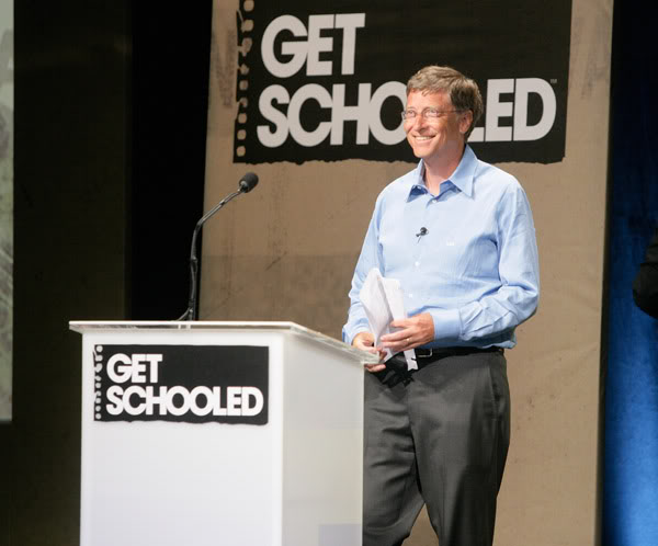 "Bill Gates - ""Get Schooled"""