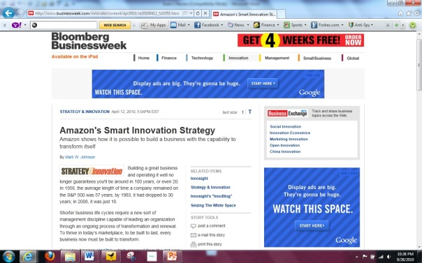 Google Ad Campaign - Bloomberg